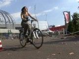 Vélostation Chambéry métropole : essais de vélos electriques à la Foire de Savoie