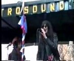Jerry Brown Rally 1992 with Joey Ramone and Skinny Bones NYC