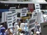 Hijab Ban Demonstration Sydney 2003