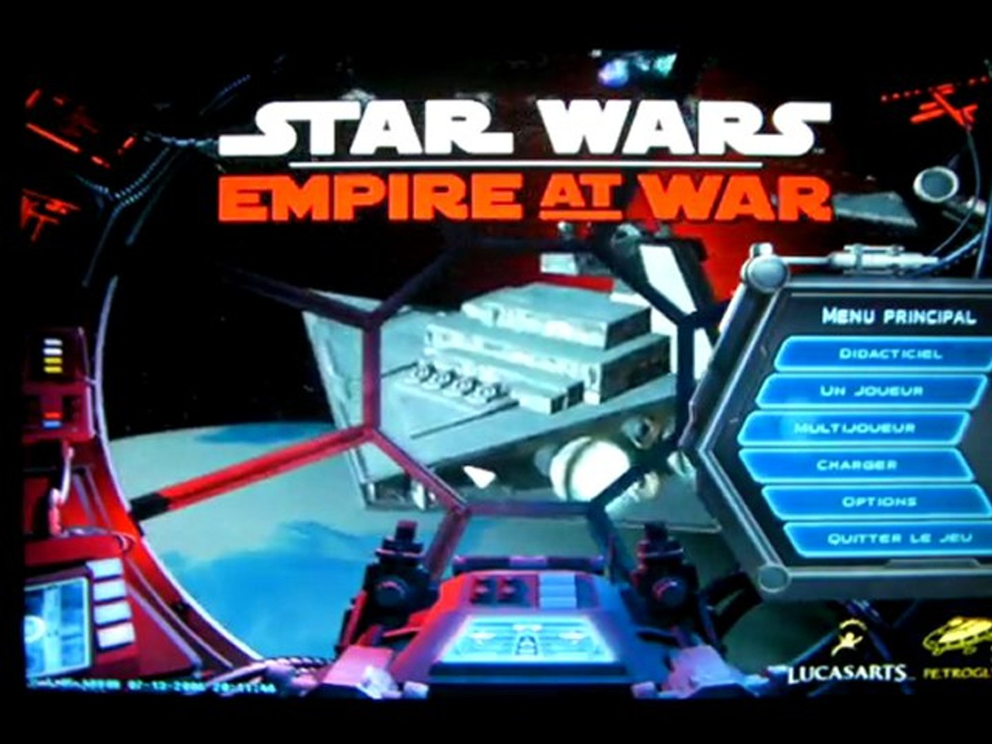 videotest de Star Wars : Empire At War (PC) partie 1