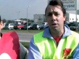 Mouvement de grève chez Euralis Montfort à Maubourguet
