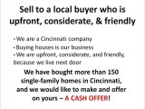 Why Sell Your Cincinnati House to a CASH BUYER!