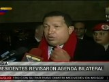 Chávez y Dmitri Medvédev preparan Cumbre presidencial