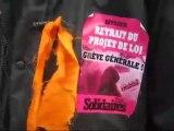 Mobilisation pour nos retraites à Saint Denis (Grèves,lycée)