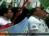 Multitudinaria demostración de fuerza del peronismo en Buenos Aires