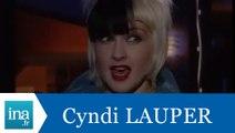 Cyndi Lauper répond à Cindy Lauper (part 2) - Archive INA
