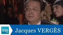 Interview jumeaux: Jacques Vergès face à Jacques Vergès - Archive INA