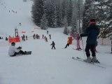 Ski La Plagne 2010 - Départ pour Antoine