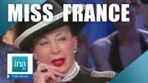 """Geneviève de Fontenay """"Arlette Laguiller, Miss France et Sylvie Tellier""""   Archive INA"""