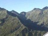 Vol dans les Pyrénées