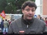 Retraites : Grève au centre des impôts (Haute-Garonne)