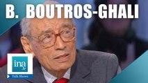 Qui était Boutros Boutros-Ghali ? | Archive INA