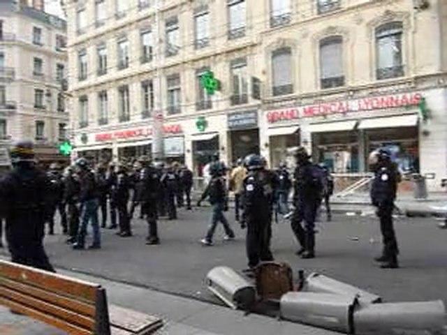 Lyon 18/10/10 : manifestation des lycéens