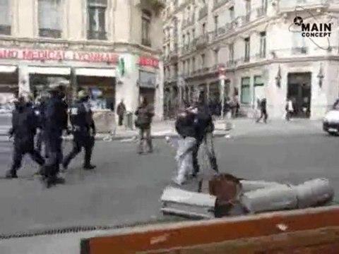 Interpellation lycéenne à Lyon