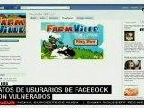 Datos de usuarios de facebook son vulnerados