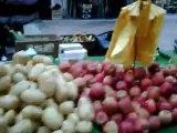 Cours Lafayette à TOULON marché aux fruits et légumes du Var