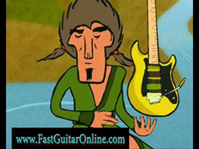 guitar shredding scales