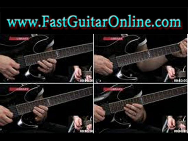 shred guitar tabs