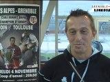 4 novembre 2010 : CSBJ / Stade Toulousain au stade des Alpes