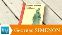 """Georges Simenon """"Lettre à ma mère"""" - Archive INA"""