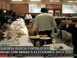 Izquierda mexicana busca fortalecer unidad con miras a elecciones 2012