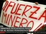 Protestas de mineros e indígenas mapuche persisten en Chile