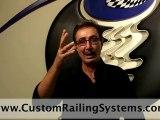Custom designed railings stainless steel railing designs