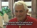 Benedict al XVI-lea: Familia trebuie să fie în centru