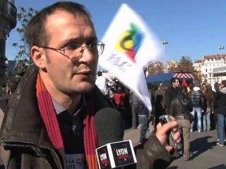 Manifestation lycéenne : Bellecour assiégé tout l'après-midi
