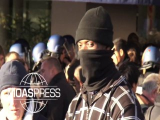 RETRAITES : INTERPELLATIONS VIOLENTES PAR LES CIVILS