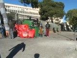 Retraites: Lycéens et profs main dans la main! (Nîmes)