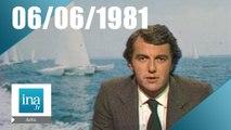 20h Antenne 2 du 06 juin 1981 - Transat en mer et dans les airs | Archive INA