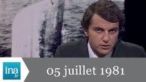 20h Antenne 2 du 05 juillet 1981 - 1ère victoire d'Alain Prost en F1 - Archive INA