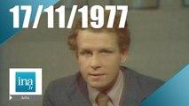 20h Antenne 2 du 17 novembre 1977 - Anouar el-Sadate en Israël | Archive INA