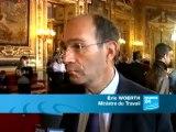Eric Woerth parle du vote unique de la réforme des retraites