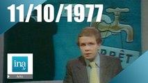 20h Antenne 2 du 11 octobre 1977 | Archive INA