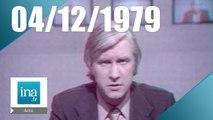 20h Antenne 2 du 04 décembre 1977 - détournement d'avion |Archive INA