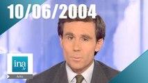 20h France 2 du 10 Juin 2004 - Le bac 2004 | Archive INA