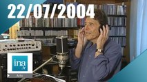 20h France 2 du 22 Juillet 2004 - Sacha Distel est mort | Archive INA