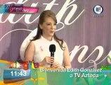 Conferencia de prensa: Edith González en TV Azteca Parte 2/2