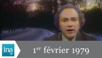 20h Antenne 2 du 1er février 1979 - Vague de froid sur l'Europe - Archive INA