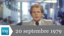 20h Antenne 2 du 20 septembre 1979 - rencontre PC/PS - Archive INA