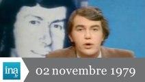 20h Antenne 2 du 02 novembre 1979 - Jacques Mesrine est mort - Archive INA
