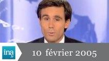 20h France 2 du 10 Février 2005 - Manifestations lycéennes - Archive INA