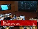 20h France2 du 7 Mai 2005 - Coupure d'électricité en PACA - Archive INA