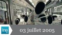 20h France 2 du 3 Juillet 2005 - Paris candidat aux JO 2012 - Archive INA