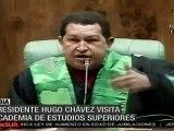 Chávez responde a Obama que Venezuela no obedece al imperio