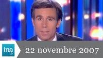 20h France 2 du 22 novembre 2007 - Mort de Maurice Béjart - Archive INA