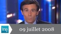 20h France 2 du 09 Juillet 2008 - 2 étudiants français tués à Londres - Archive INA