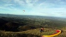Vol en parapente depuis le Puy-de-Dôme